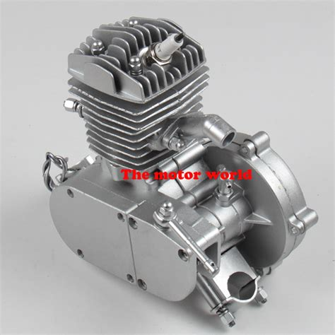 Alis Motor 80cc 2 stroke engine single cylinder for motorized bicycle bike v frame mountain bike road bike