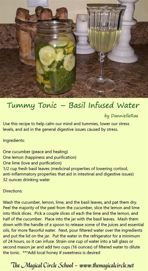 spell it out the kitchen witch volume 9 books tummy tonic kitchen witch basil infused water