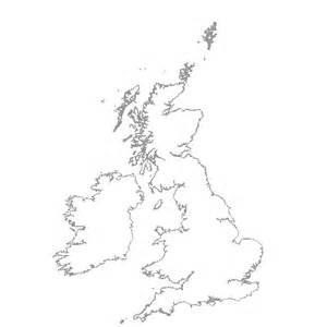 England Map Blank by Map Of The Uk Blank