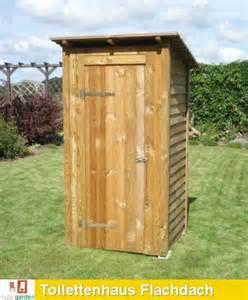 garten toilette selber bauen toilettenhaus ger 228 teschuppen mit pultdach flachdach