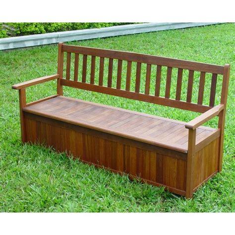 outside storage bench uk diy outdoor storage garden storage bench hardwood