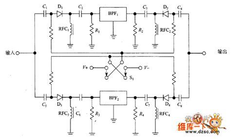 band switching diode wiki pin diode with band pass filter switch circuit control circuit circuit diagram seekic