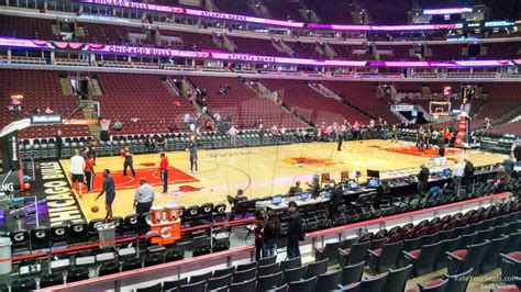 section 102 united center united center section 102 chicago bulls rateyourseats com
