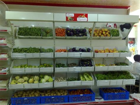 Fruit And Veg Rack by Sartec Shelving System