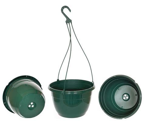 Tatakan Pot Segilima Diameter 27cm Pine Green Colour Teku Hanging Pots Baskets 27cm