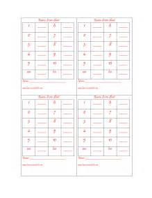 bunco templates bunco forms related keywords bunco forms