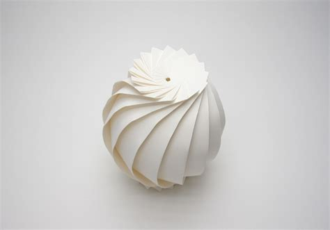 How To Make A Sphere Out Of Paper - all sizes large scale origami sphere flickr photo