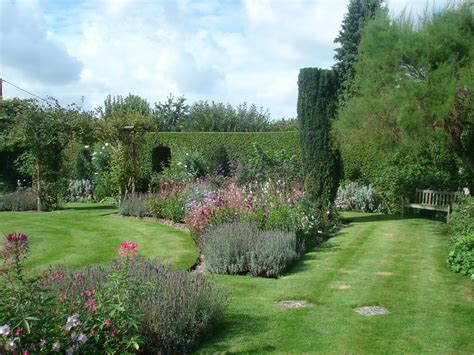 Designing A House formal garden informal planting manor house stratford tony