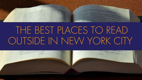 best place to read best places to read outside in nyc