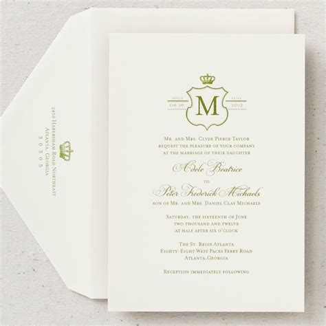Wedding Announcement Letter Template by Wedding Invitation Templates Royal Wedding Invitation