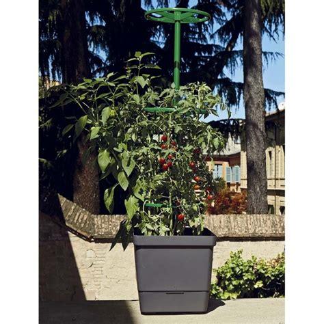 vasi per orto vaso da orto con sostegno per ricanti 28x28xh107cm
