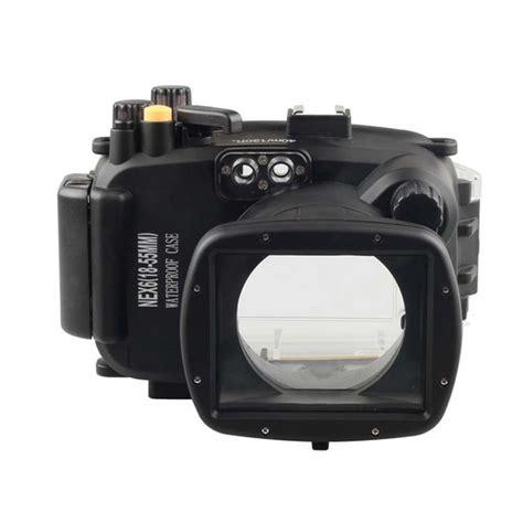 Meikon Waterproof For Sony Nex 6 Hitam G6q7 meikon 40m waterproof underwater housing bag