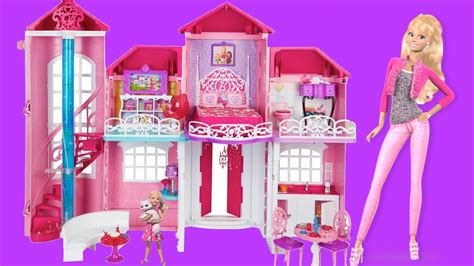 barbie doll dream house videos barbie life in the dreamhouse barbie malibu dollhouse バービー人形の