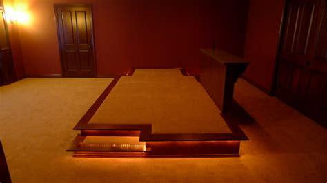 Multi Level Home Floor Plans Theater Room