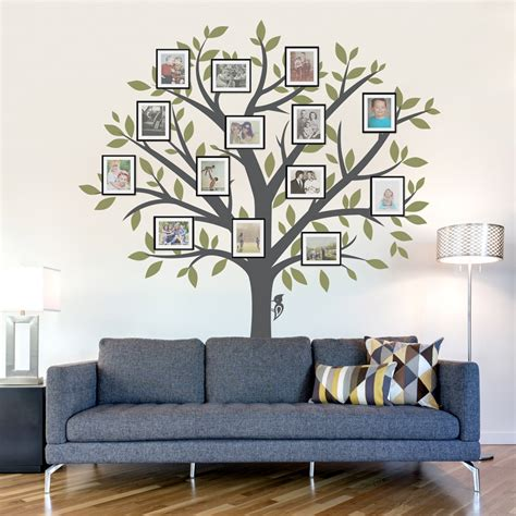 wall sticker tree large family tree wall decal