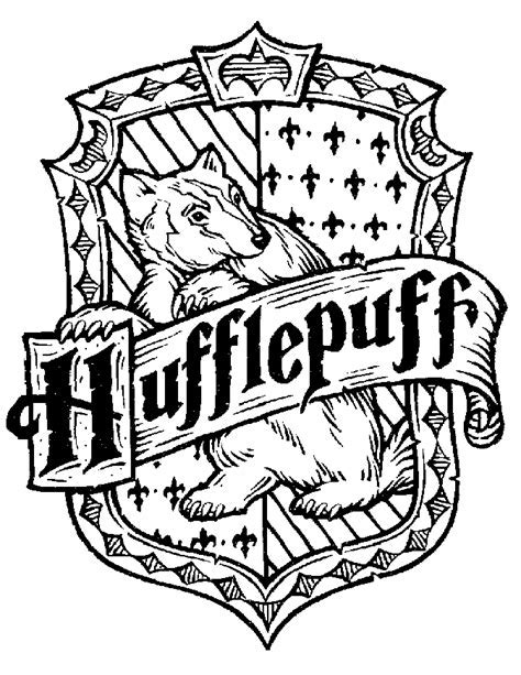 what are hufflepuffs colors harry potter hufflepuff coloring page coloring sheets
