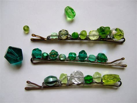 beaded bobby pins beaded bobby pins 11 diy hair accessories your