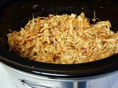 fantastic family favorites slow cooker chicken taco meat
