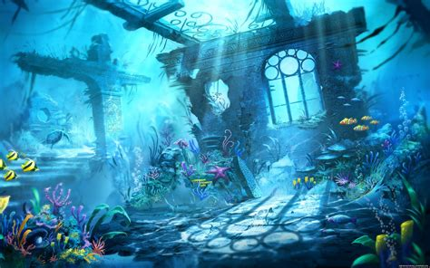 Home Design Game Free Trine Underwater Ocean Life Fish Photo New Hd Wallpapers