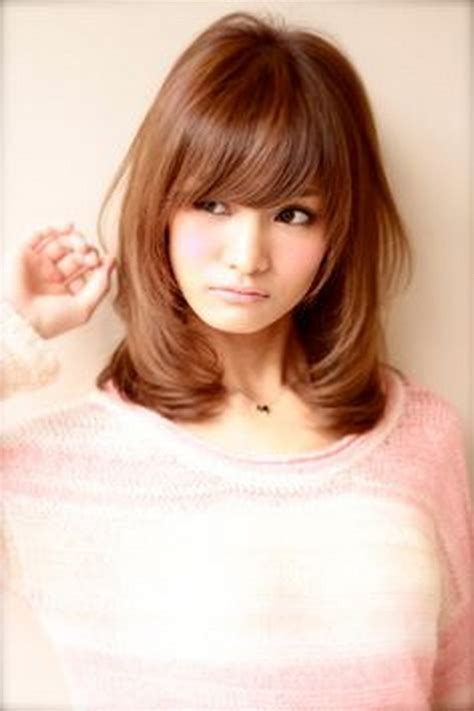 japanese hairstyles for medium length hair japanese medium hairstyles