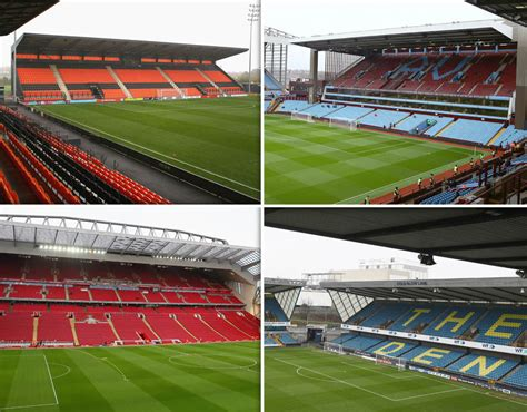 best football leagues premier league and football league stadiums ranked which