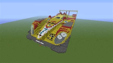 minecraft car porsche rs spyder minecraft project