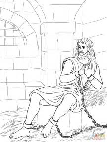 the baptist coloring page how to draw