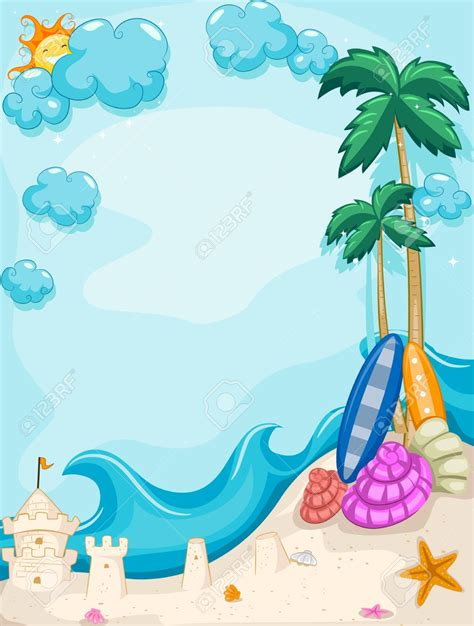 summer themed pictures summer background clipart