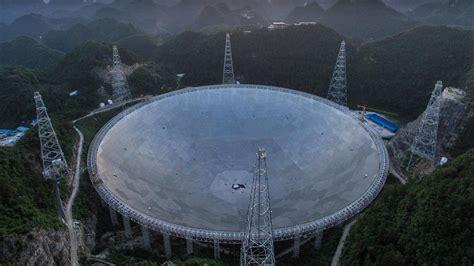 china completes worlds largest radio telescope