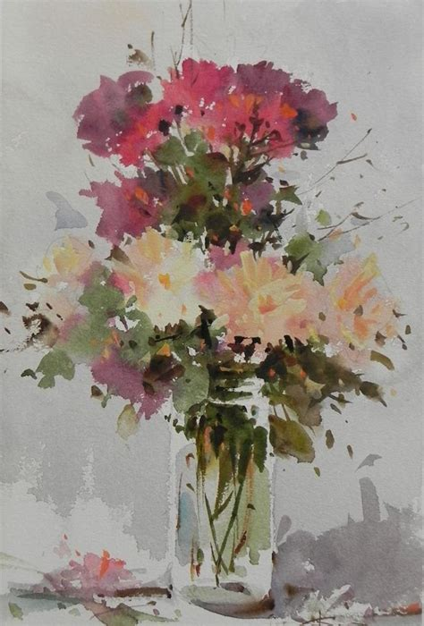 libro watercolour flower portraits 239 best corneliu dragan targoviste images on watercolors watercolor paintings and