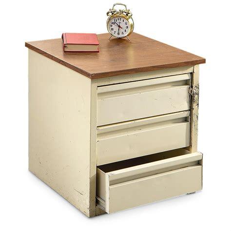 3 drawer nightstand canada used u s military 3 drawer night stand 183930