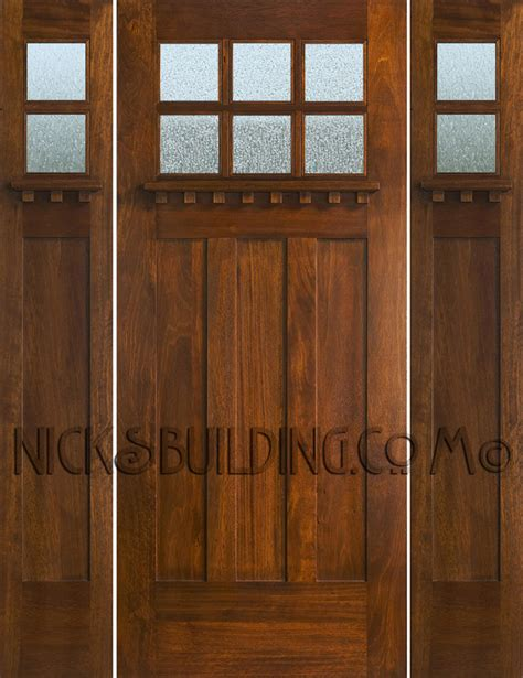 Craftsman Style Front Door Mission Style Front Door Wooden Mission Style Front Door Craftsman Front Doors Other Metro By