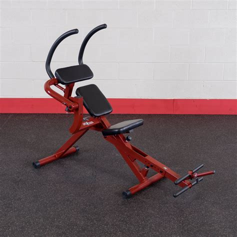 recumbent ab bench bfab20 best fitness semi recumbent ab bench body solid
