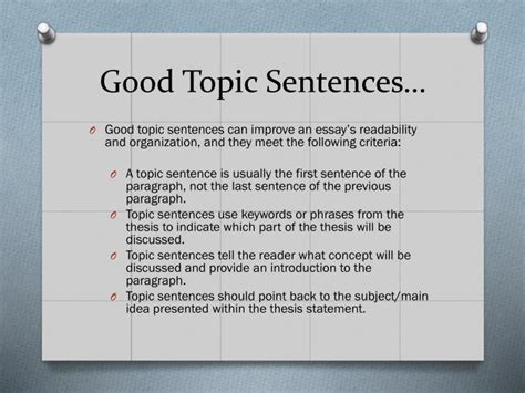 crafting a thesis statement ppt crafting thesis statements and utilizing topic