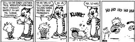 kim s calvin and hobbes page foreign