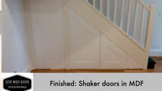 making doors out of mdf making shaker doors in mdf final youtube