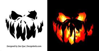 10 free scary cool pumpkin carving stencils 10 free scary pumpkin carving stencils patterns