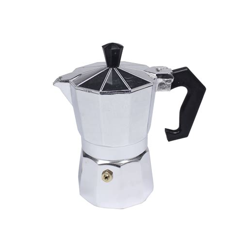 city rubber st maker mini aluminum moka express coffee maker pot with rubber