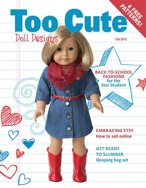doll quarterly fall 2015 doll designs fall 2015 issue doll by