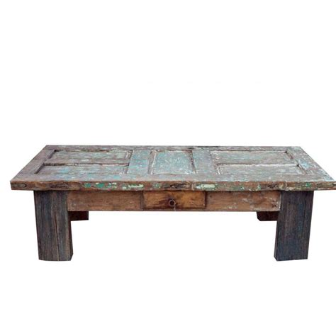 Barn Door Coffee Table Order Blanco Reclaimed Coffee Table Crafted From A White Reclaimed Barn Door