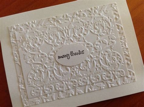 Thank You Note For Handmade Gift - handmade blank thank you note wedding cards packaged in