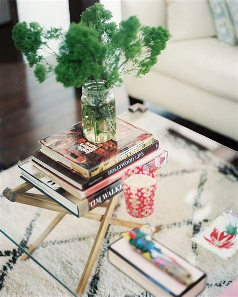 Coffee Table Picture Book Glass And Brass Coffee Table Photos 3 Of 3