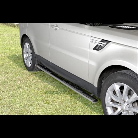pedane range rover sport range rover sport 2014 pedana inox lucido diametro 70