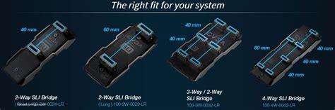 Evga Sli Bridge Pro 2 Way 1 Slot Spacing 3 Way 2 Slot Spacing evga pro sli bridge v2 page 4 evga forums