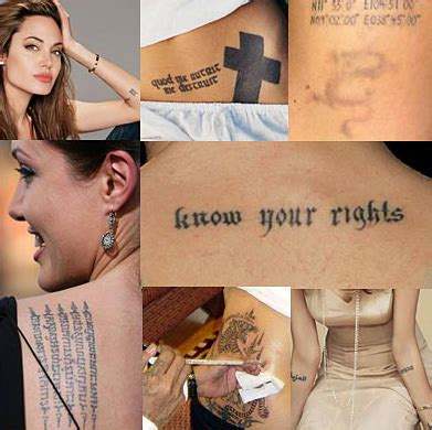 celebrity tattoos know the secrets of celebrity tattoos