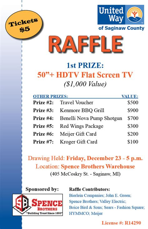 100 community place 3rd floor united way raffle united way of saginaw county
