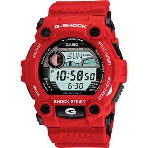 Casio g shock red rescue watch frachelli cool stuff for guys