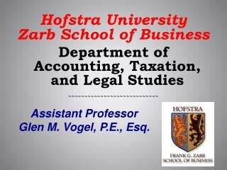 Mba Accounting Hofstra by Ppt The Of Toledo College Of Business And