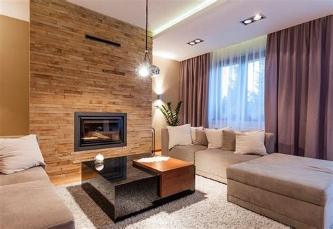 Stone Wall Tiles For Living Room by Wall Decoration In The Living Room 40 Ideas And Modern