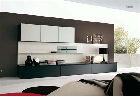 modern wall units have a touch of modernism in your living room with the